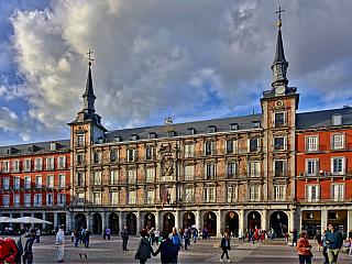 Madrid - fotogalerie z roku 2017 (Španělsko)