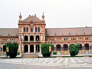 Sevilla - fotogalerie z roku 1998 (Španělsko)