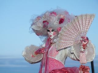 Karneval v Benátkách (Itálie)