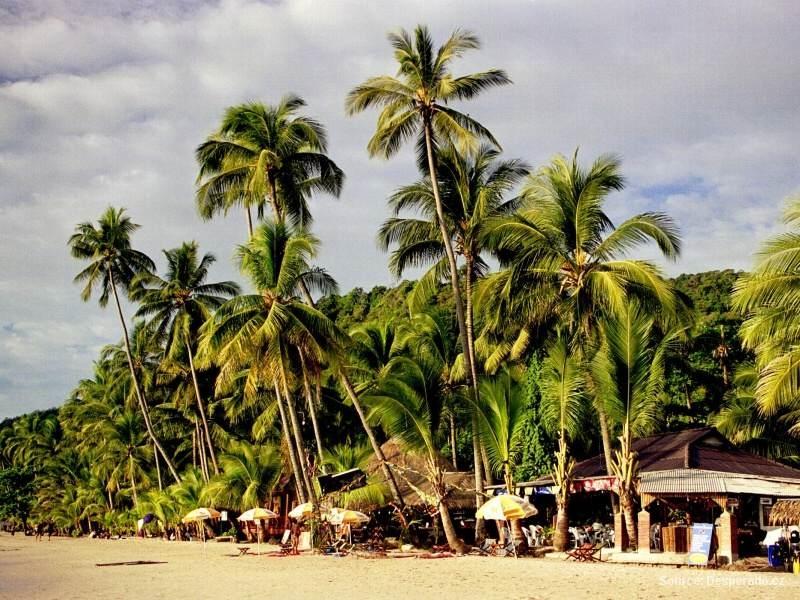 Malebný thajský ostrov Ko Chang