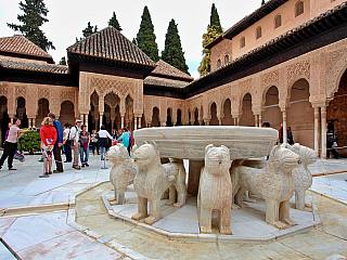 Alhambra - fotogalerie z roku 2013 (Španělsko)