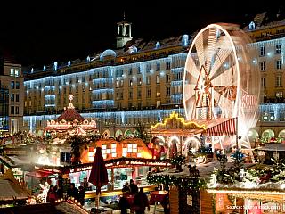 Vánoční Drážďany (Německo)