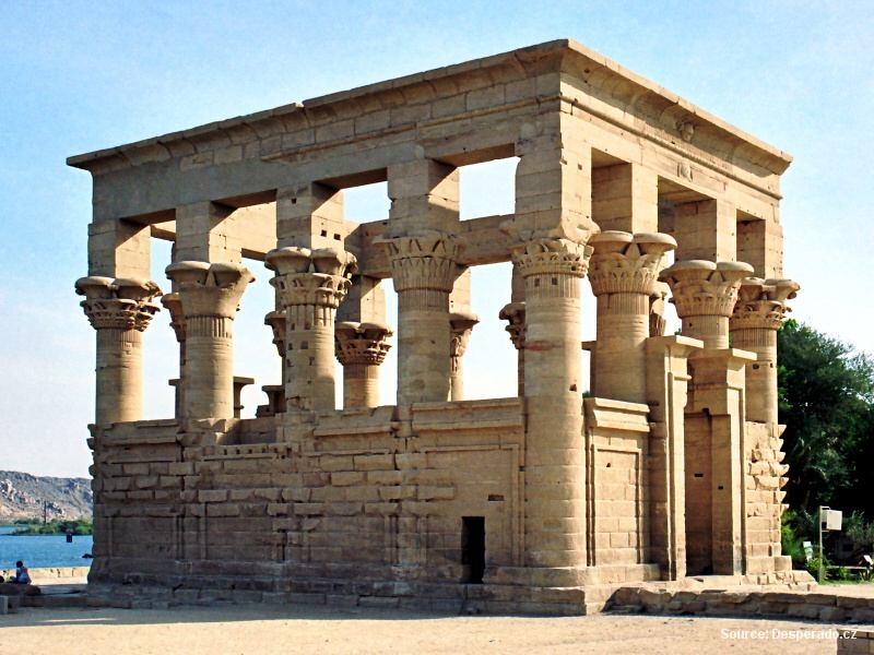 Philae – chrám bohyně Eset