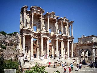 Fotogalerie Efesosu, impozantních ruiny antického města (Turecko)
