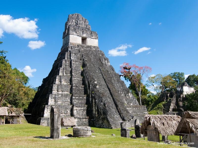 Tikal - mayské město ukryté v džungli