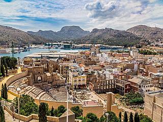 Cartagena: Slunce, teplo, lodě a polovina dubna (Španělsko)