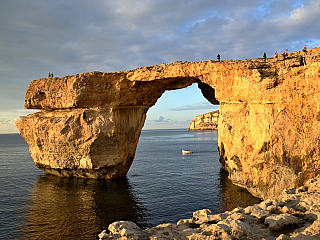 Gozo – druhý největší ostrov Malty (Malta)