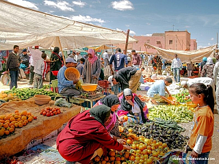 Maroko - vítejte ve vyprahlé zemi plné jahod a oliv (Maroko)