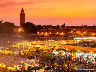 Marrákeš: maročtější než Rabat (Maroko)