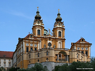 Melk a jeho barokní klášter (Rakousko)