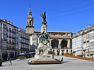 Vitoria, jedno z nejnavštěvovanějších měst Baskicka (Španělsko)