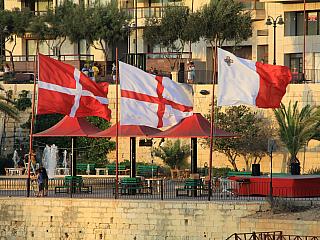 Sliema - letovisko, které žije (Malta)