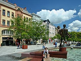 Szombathely - město v malebné krajině (Maďarsko)