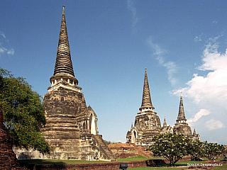 Ayuthaya – ruiny zašlé slávy (Thajsko)