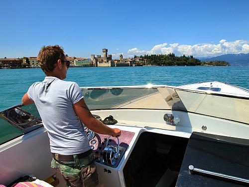 Lago di Garda je nejznámější italské jezero (Itálie)
