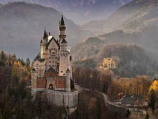 Zámek Neuschwanstein (Bavorsko - Německo)