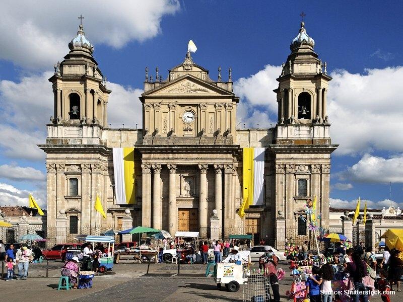 Guatemala City - město kontrastů