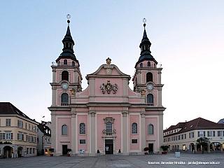Ludwigsburg - poklidné město u Stuttgartu (Německo)