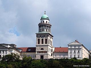 Pannonhalma - benediktinské arciopatství svatého Martina (Maďarsko)