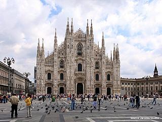 Milán - italské centrum módy a obchodu (Itálie)