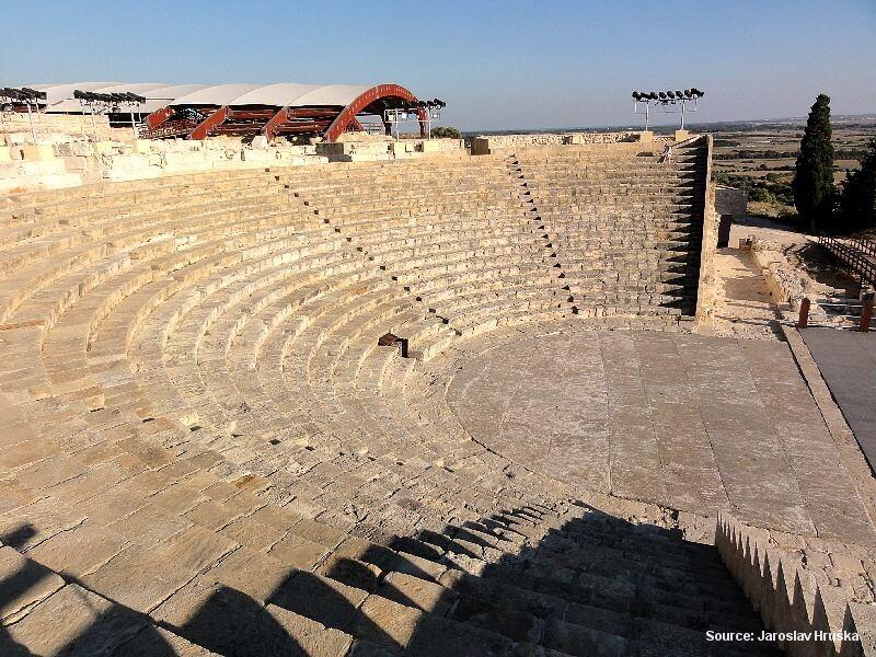 Kourion - pozůstatky antického města na Kypru