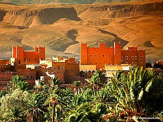Pouštní město (Maroko)