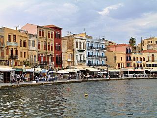 Chania - druhé největší město Kréty (Řecko)