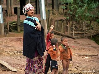 Muang Sing – na území horských kmenů (Laos)