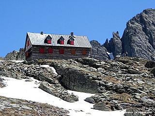 Reisseck - základna pro vysokohorskou turistiku (Rakousko)