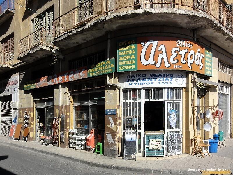 Nikosie - rozdělené hlavní město Kypru