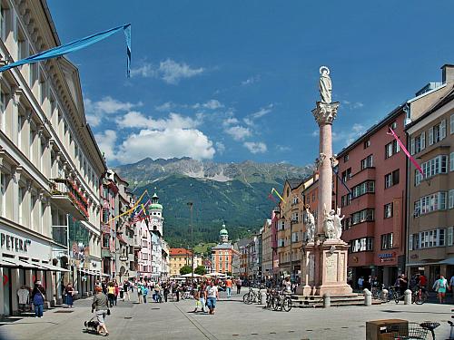 Innsbruck - hlavní město lyžování (Rakousko)