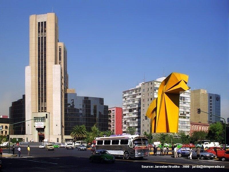 Mexico City - jedno z největších měst světa