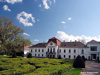Nagycenk, zámek Szechenyiů (Maďarsko)