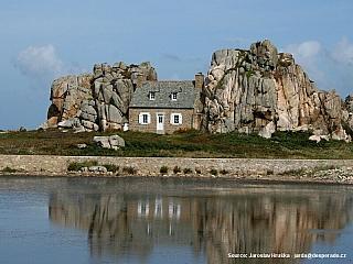 La Côte de Granit Rose v Bretani (Francie)