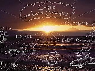 Kanárské ostrovy - panoramatický kalendář 2015 (Španělsko)