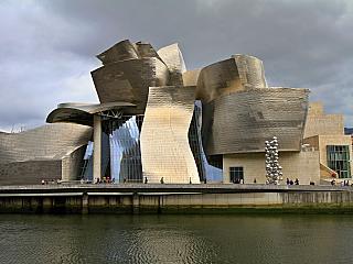 Guggenheim museum v Bilbao (Baskicko - Španělsko)