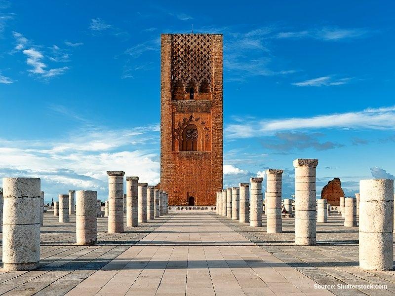 Rabat nebo Ribát, zlatý střed Maroka