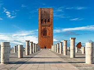 Rabat nebo Ribát, zlatý střed Maroka (Maroko)