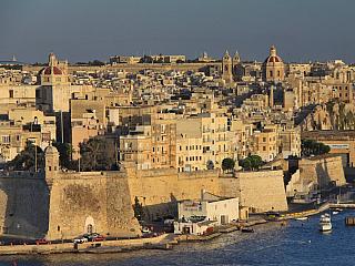 Senglea – nejlidnatější část Malty (Malta)