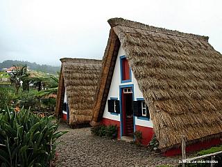 Santana aneb jak se bydlelo na Madeiře (Portugalsko)