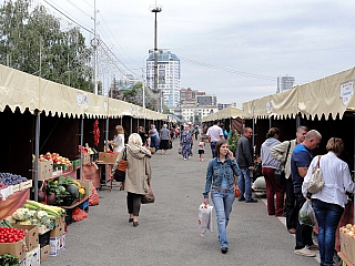 Tržiště v Samarře (Rusko)