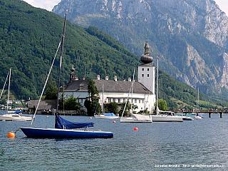 Vodní zámek Ort a Gmunden (Rakousko)