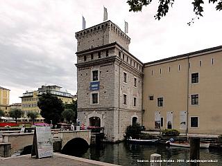 Riva del Garda - atraktivní město na severu Gardy (Itálie)