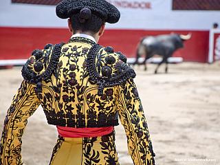 Toreador v býčí aréně (Španělsko)