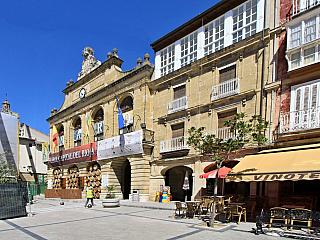 Haro – město festivalu vína (Španělsko)