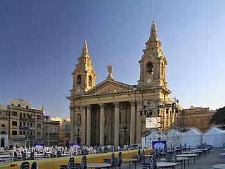 Floriana vám rozkvete před očima (Malta)