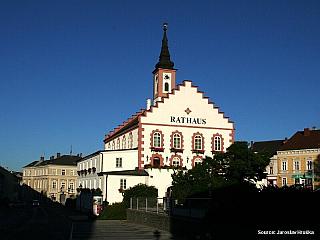 Waidhofen an der Thaya v Dolních Rakousích (Rakousko)