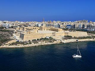 Manoel Island  a pevnost Manoel Fort (Malta)