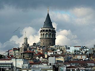 Čtvrť Galata v Istanbulu (Turecko)