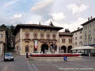 Rovereto - město muzeí v regionu Trento (Itálie)